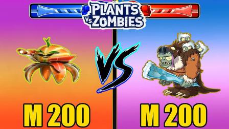 植物大战僵尸花园战争:大橙子在地上滚着跑,森林僵尸拿着98K就攻击我