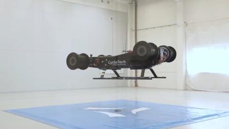 """会飞的""""汽车"""",没有螺旋桨靠4个轮子腾空,过于先进视频很短"""