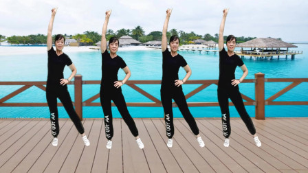 广场舞《最怕兜里没有钱》歌词现实,舞步简单