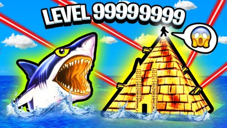 Roblox造船模拟器:木筏求生我造了一个金字塔!小飞象解说