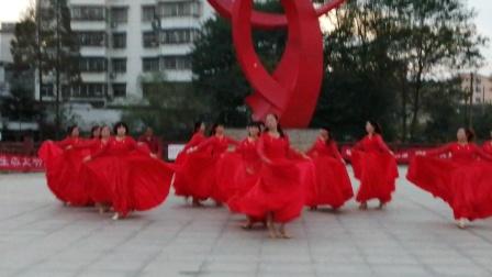 18,广场舞(红枣树)马鞍夏之舞队
