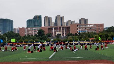 2021年邵阳县学生运动会-石齐学校啦啦操表演