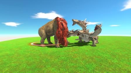 动物战争:自创五头怪兽VS五头蛇妖 谁更强大