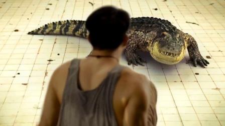 2个生活在废弃建筑中的未知生命,废弃医院地下室住着食人鳄鱼?