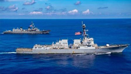 果然出事!中俄实弹演习,美军驱逐舰硬闯禁区,俄军曝光回击视频