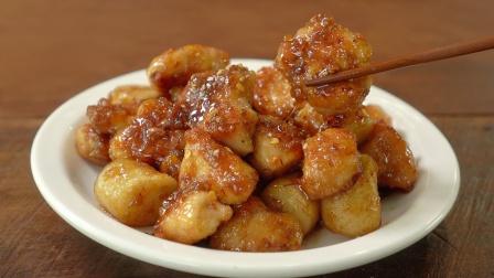 一盘蜂蜜大蒜黄油鸡,简单的鸡胸肉食谱