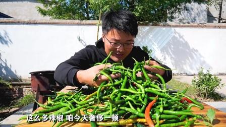 全椒宴,用二荆条做农村大锅菜,羊头琅琊肉都特别香,太过瘾了