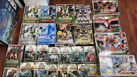 (老爱制作)1028百兽战队牙吠者日版DX全系列合体机器人 牙吠王力王猎人牙吠神伊卡罗斯肯塔欧斯牙吠勇士