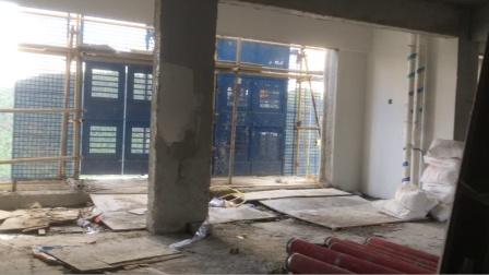 正在施工中楼盘电梯监控线路施工安全事项