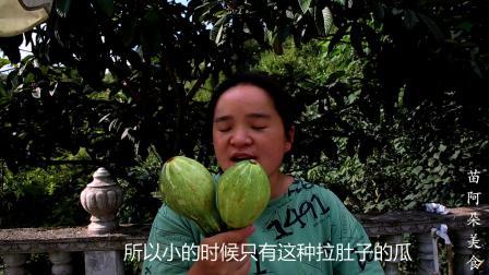 苗大姐吃拉肚子的瓜,不加油不加盐,贵州名菜人人爱