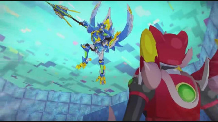 超旋斗士:苍渡被仇人激怒,要和对方决一死战