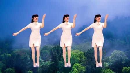 精选广场舞《小城故事多》看似一幅画 听像一首歌