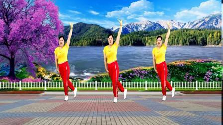 热门情歌广场舞《迎亲》歌曲动感 舞步简单大气 越跳越喜欢
