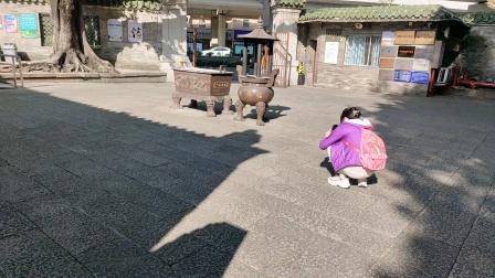 广州三元里古庙抗英斗争纪念堂风景区,,,,2021年10月17日下午三点.