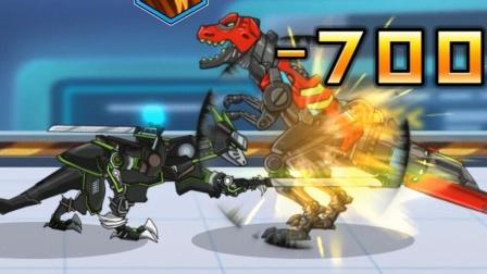 霸王龙对战雷龙,小伙伴吓跑了!