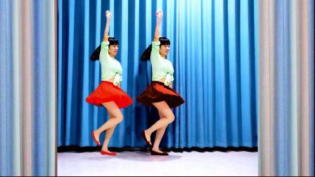 零基础舞蹈《后海酒吧》简单32步 流行好看