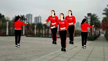 32步动感瘦身健身舞《九九女儿红》正反面,一学就会