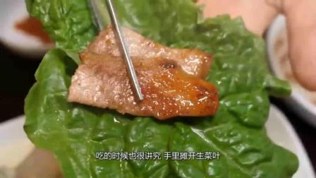 韩国小伙广东卖烤肉,88元1位不限量,日营业过万,直言太累了