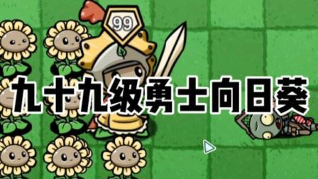 植物大战僵尸:九十九级勇士向日葵