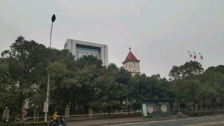 张家港沙钢集团钟楼正午12点报时《音乐盒》(声音调小了)