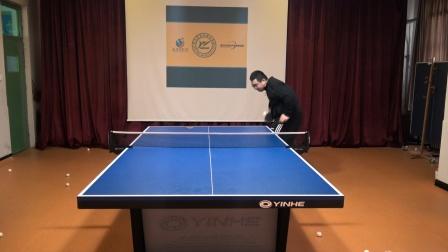 乒乓球喜欢打相持的业余爱好者,发球的思路是什么?