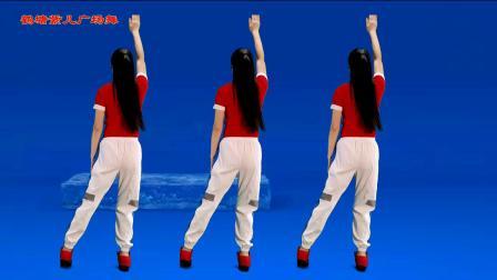 大众减肥健身操,每天半小时,减重减脂《心上人dj》背面演示