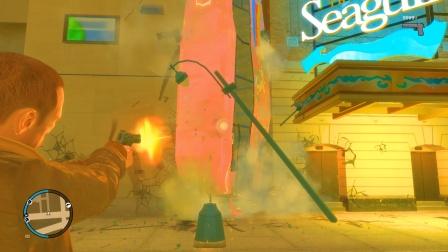 我把沙漠之鹰手枪的威力伤害值调高后,一枪打飞公交