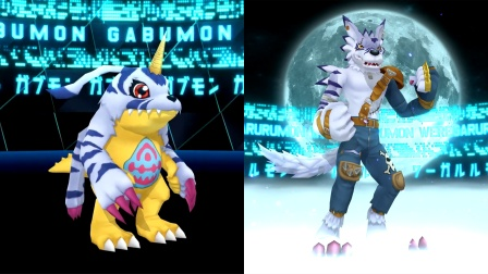 """数码宝贝MMD:加布兽""""超进化""""兽人加鲁鲁,超帅气"""