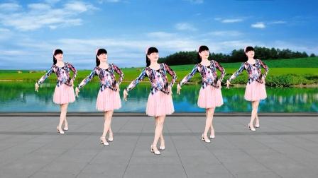 广场舞《幺妹住在十三寨》流行山歌,简单欢快网络流行舞