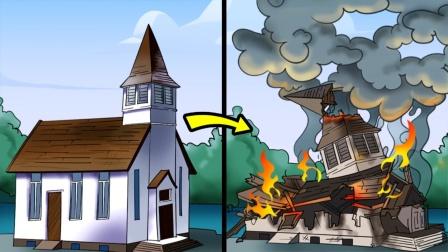2个离谱却是真实发生的故事,上帝的关照让全员迟到躲过爆炸?