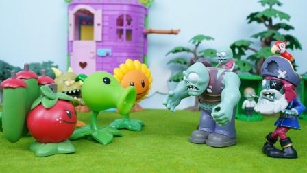 植物大战僵尸:巨人僵尸和豌豆射手谈判