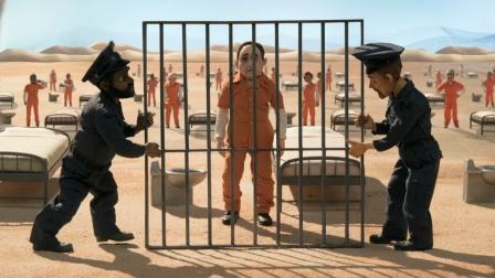 一所奇怪的监狱,只要掰开铁栅栏就能越狱,但没一人能成功!