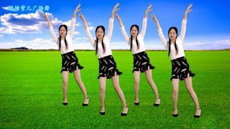 好听的草原歌曲,弹跳广场舞,附分解《云中草原》