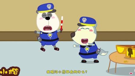 儿童卡通动画:恶魔牙齿偷吃汉堡,被牙齿护卫降伏
