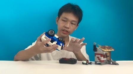 维思积木遥控车分享试玩
