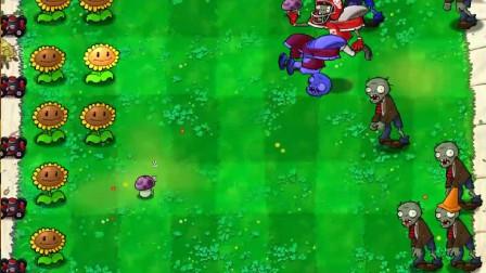 植物大战僵尸beta版:击弹,调成冰西瓜最厉害!