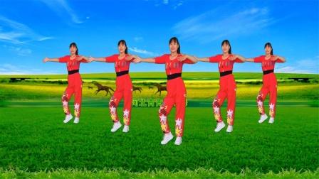 有氧运动,新歌新舞《策马情歌》动感健身