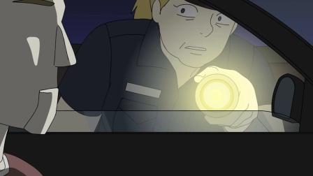 交警深夜查车,遇见长相诡异的司机,结果引火上身!