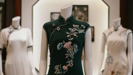 近代旗袍是中国女性禁锢解放后的产物,改变了中国女性长期以来束胸宽袍裹臂的旧貌 神奇的老字号 20211022