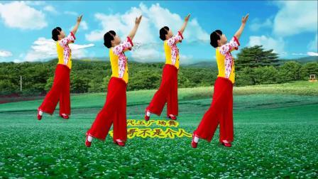 代玉广场舞《哥哥不是个人》好听陕北民歌,听的心都融化了