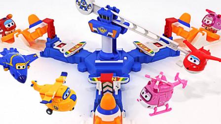 小飞侠们获得新款变形基地中心玩具