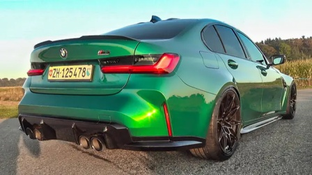 街头实拍 2022 宝马 BMW M3 Competition (G80)