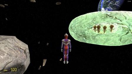 迪迦发现外星人躲在陨石里要怎么抓住啊?