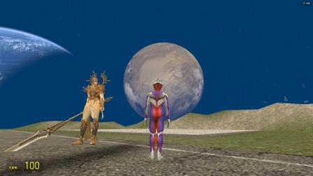 迪迦在太空遇见一个人,莫非他是齐天大圣?