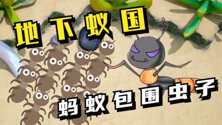 地下蚁国01:黑蚁军团,包围魔鬼虫!