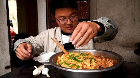 2元成就一盆面,这是我做过最具性价比的美食,火锅鸡面,太香了