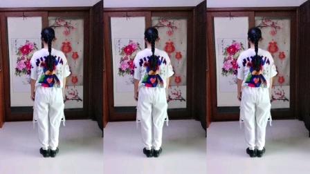 火爆时尚网红舞《策马情歌》背面演示,海韵老师