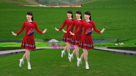 民族风广场舞《天籁传奇》悠扬的歌声好听