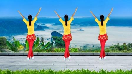 大气动感广场舞《中国梦》演示分解,好学好看