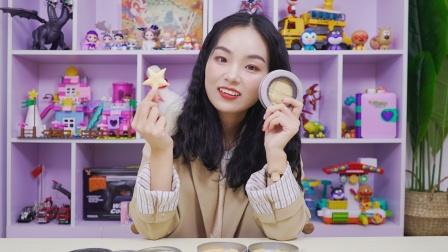 橘子姐挑战鱿鱼游戏糖饼玩具能成功吗
